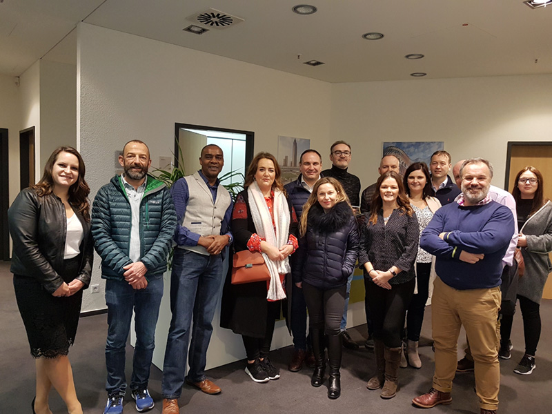 NIRSC Study Tour to Frankfurt, January 2018